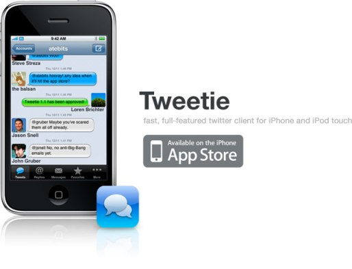 Tweetie iPhone 0011 Twitter compra Atebits, azienda che ha creato Tweetie per iPhone