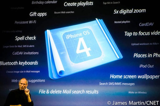 iphone os4 001 Steve Jobs, rilascia alcuni numeri sulle vendite di iPad, iPhone e iPod
