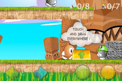 goros way02 Goros way, un simpatico platform game per iPhone
