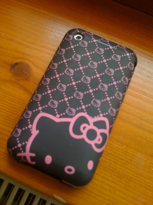 Custodia Hello Kitty per iPhone - retro