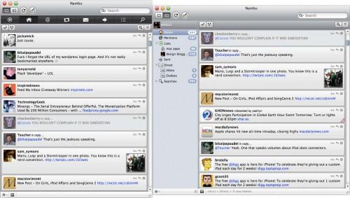 nambo1 500x283 Nambu 2.0, ottimo client per Twitter gratuito.