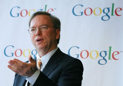 Eric Schmidt google 001 Eric Schmidt: Android vende 200 mila dispositivi al giorno. A livello mondiale Nokia detiene ancora il primato, Apple è solo al quarto posto