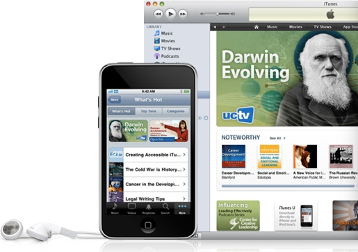 itunesU iTunes U a quota 300 milioni di download in appena 3 anni