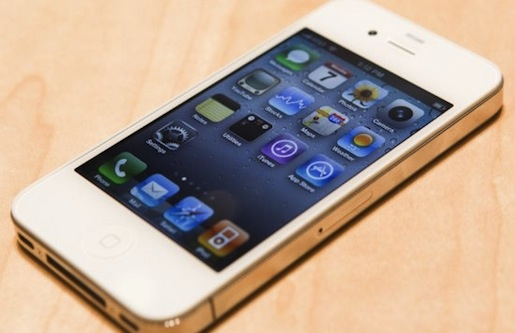 white iphone 4 wwdc t iPhone 4, restyling di Gennaio?