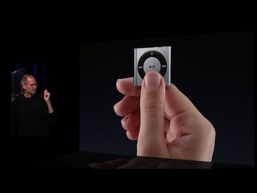 IMG 0174 iPod Shuffle, indietro di una generazione