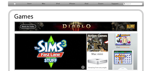 applegames Apple apre Games.