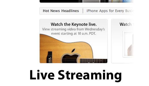 applestreaming Levento Apple di stasera in diretta streaming!