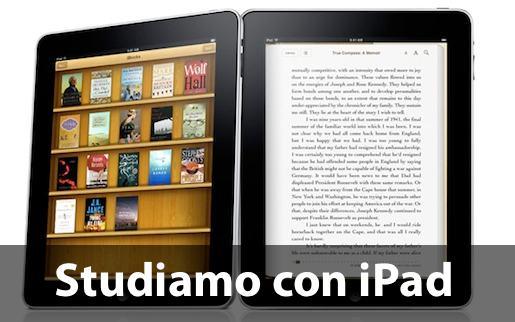 iPadascuola Liceo Scientifico Lussana di Bergamo: gli studenti della 4°L studiano su iPad.
