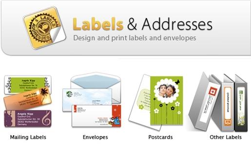 LabelsAddresses Labels & Addresses, creare etichette e buste personalizzate su Mac