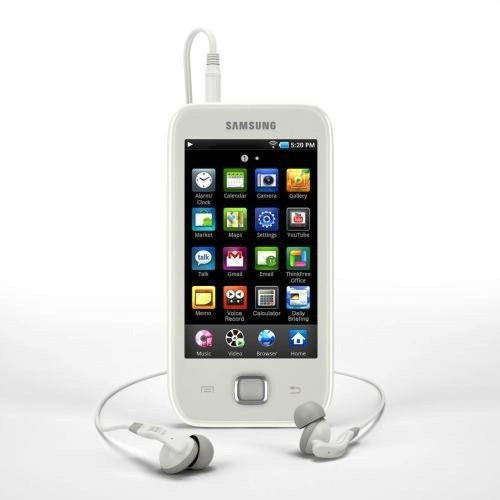 galaxy player 50 001 Samsung presenta Galaxy Player 50, l'antagonista di iPodTouch a soli 190 Euro