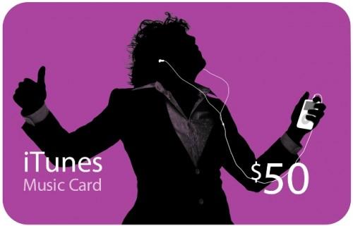iTunesCard 50 001 500x321 La Francia vuole esortare la gente a comprare musica, chi acquista la card iTunes da 25 Euro nè avrà altri 25 gratis