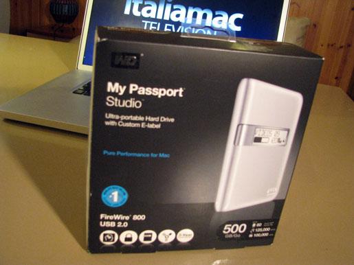 pass01 Recensione del disco rigido portatile My Passaport Studio di Western Digital