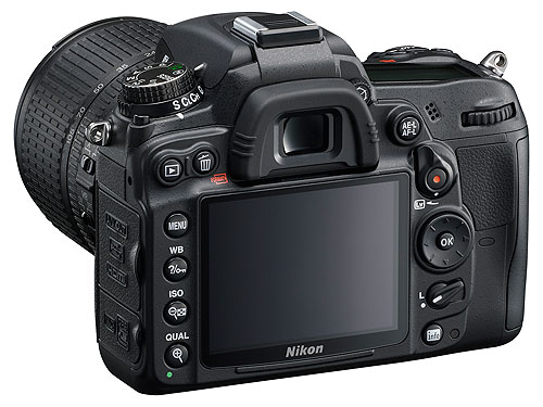 NikonD7000 002 Nikon D7000: Nuova reflex con sensore CMOS DX da 16,2 MP, cpu EXPEED 2 e video FULL HD