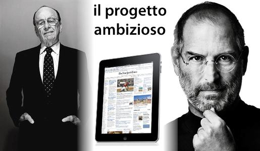 thedailyintro Murdoch, iPad e Jobs, tutto in salsa Daily.