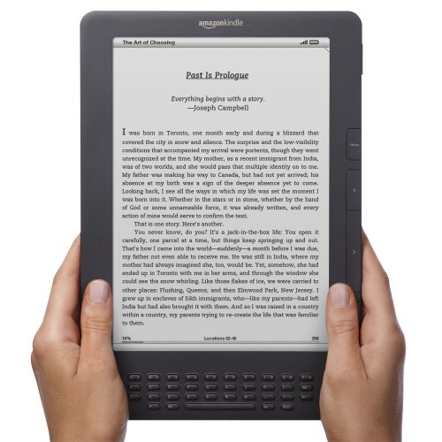 Kindle DX 0001 Amazon: Kindle 3/DX in soli due mesi ha venduto oltre 2 milioni di esemplari