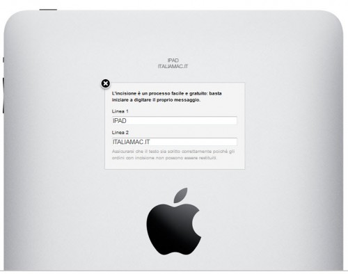 ipad italiamac.it 0001 500x394 Apple rende disponibile anche in Italia lincisione laser gratuita su iPad