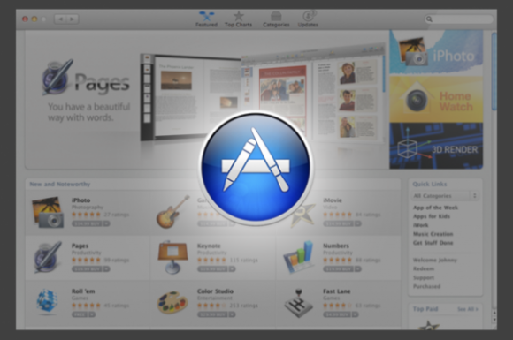 a44e2 Mac App Store e1292549177301 580x385 Mac App Store: un milione di download in sole ventiquattrore