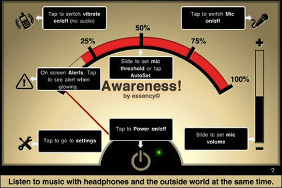 Awareness2 Awareness! The Headphone App: per non isolarci dal mondo con le cuffie