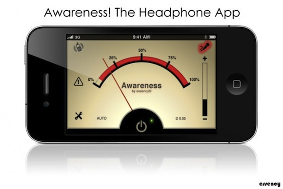 awareness1 Awareness! The Headphone App: per non isolarci dal mondo con le cuffie