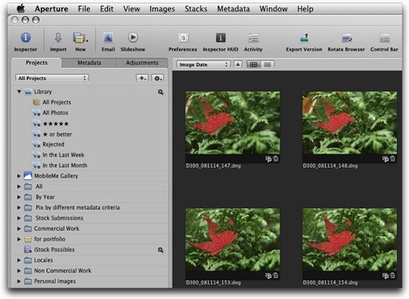 Aperture 3 Aperture 3 si aggiorna alla versione 3.1.2