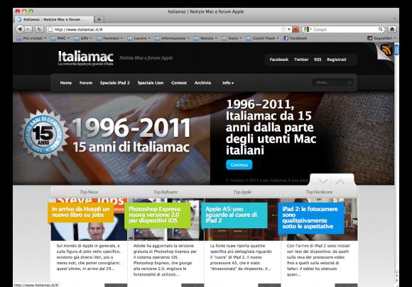 Firefox4 home 580x405 Firefox 4, ritorna il Browser della Volpe