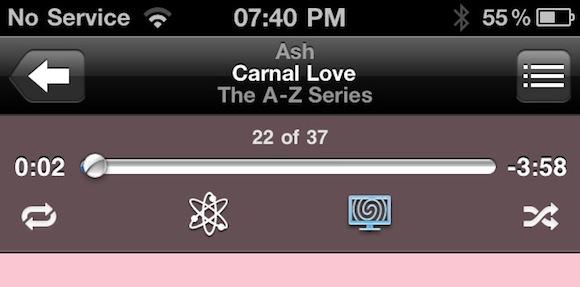 Remote app Nuovi controlli per gli effetti visivi di iTunes avvistati nellapp Remote