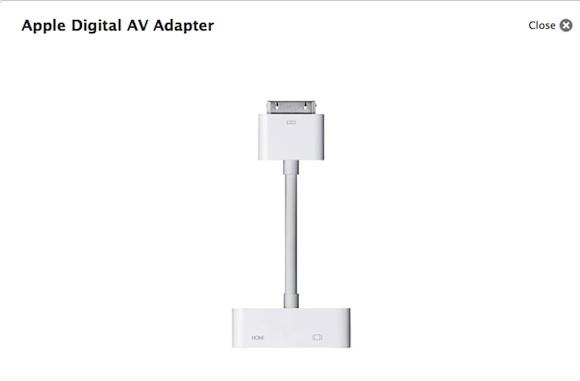 digital Il cavo Apple Digital AV Adapter sarà compatibile anche con liPad di prima generazione, con alcune limitazioni