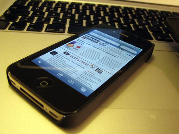 0041 Puro, custodia multiuso 3 in 1 per iPhone 4