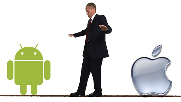 AppAnd1 Il caos Android versus il controllo Apple