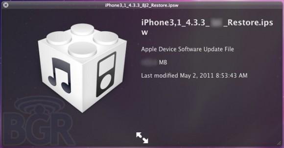 Apple iOS 4 3 3 location110502125750 580x303 Apple sarebbe pronta a rilasciare iOS 4.3.3 per risolvere il bug della localizzazione