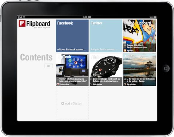 Flipboard Main Anche Flipboard incontra le forbici dalla Cina
