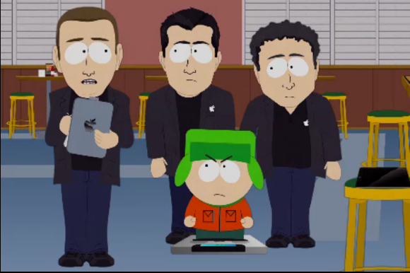 South Park Nuova parodia su South Park! Rischiamo di diventare HumanCentiPad!