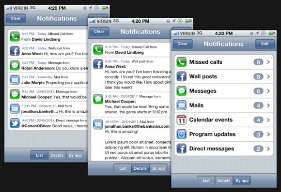 notifications app3 580x397 Un concept mostra come potrebbero essere le notifiche push in iOS 5
