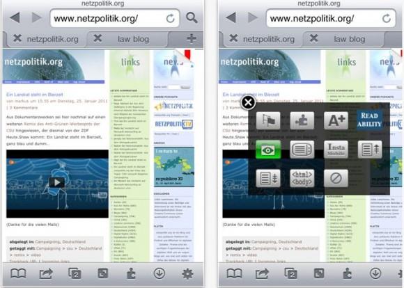 Cattura 580x414 iCab Mobile: browser per iOS con molte funzioni