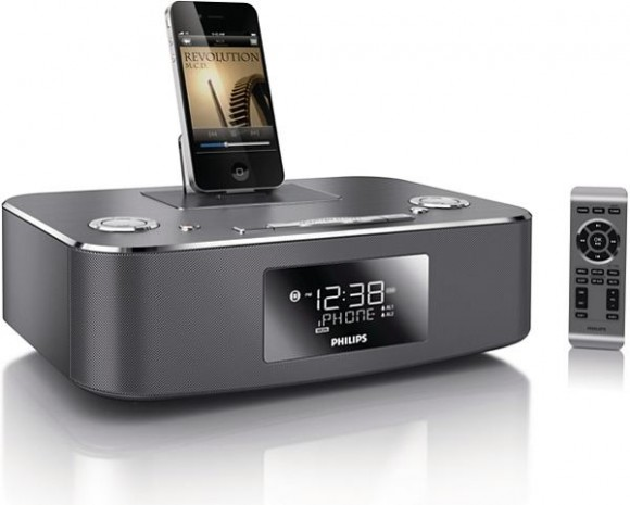 DC291 37 APP global 001 lowres 580x465 iHome Philips: pronti i nuovi sistemi compatibili con iPhone e iPad