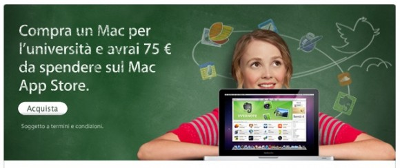 Schermata 2011 06 16 a 11.32.53 580x244 Back To School: acquista un Mac e riceverai una Carta Regalo da 75€ per il Mac App Store