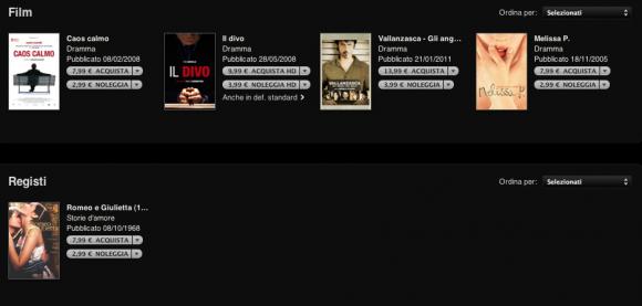 Schermata 2011 06 28 a 21.18.59 580x277 iTunes Store: una nuova sezione dedicata ai film italiani
