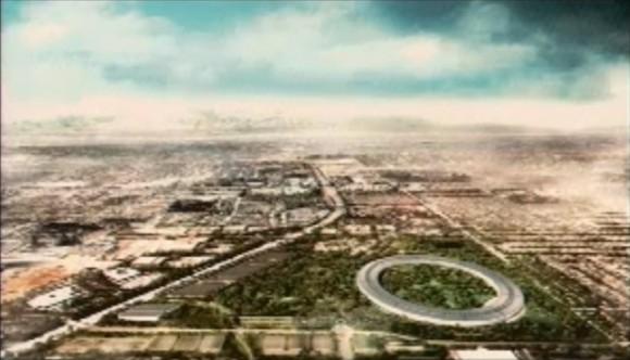 apple spaceship campus 2 580x332 Steve Jobs presenta il progetto di quello che sarà il nuovo Campus di Apple
