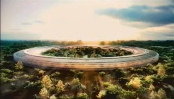 apple spaceship campus 4 580x331 Steve Jobs presenta il progetto di quello che sarà il nuovo Campus di Apple
