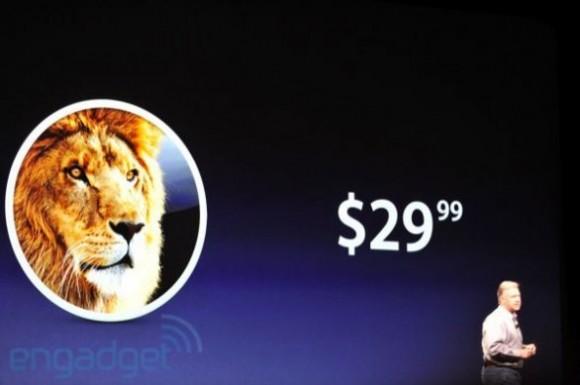 lion 580x385 WWDC: su il sipario per il nuovo Mac OS X Lion