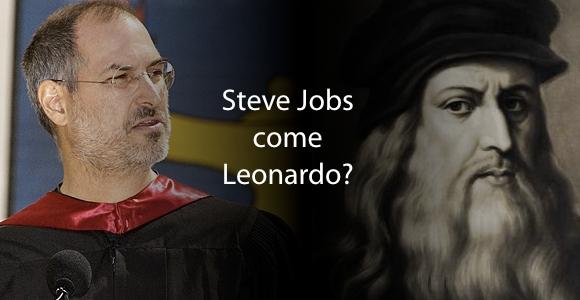 steve jobs leonard da vinci Steve Jobs come Leonardo da Vinci?