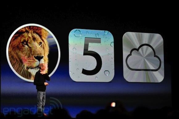 stevejobswwdc2011liveblogkeynote0350 Date duscita e prezzi di Mac OS X Lion, iOS 5 e iCloud