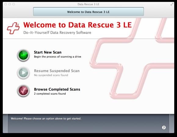 Data Rescue 3 LE 4 580x450 Recupera i dati che pensavi fossero andati persi con Data Rescue 3 LE