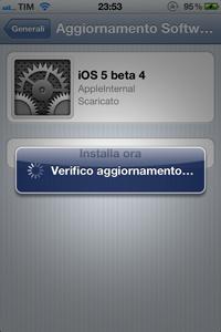 IMG 02111 L'iOS 5 beta 4 rende possibile per la prima volta l'aggiornamento del firmware attraverso OTA