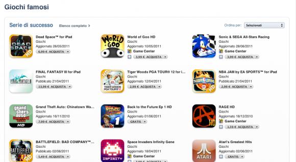 Schermata 07 2455765 alle 21.26.24 580x318 Due nuove sezioni su App Store: Giochi famosi e Zona di combattimento