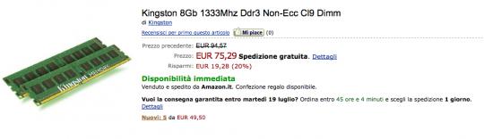Schermata 2011 07 16 a 18.55.57 540x156 Aggiornate il vostro MacBook Pro o iMac a 8 GB di Ram a soli 75 euro.