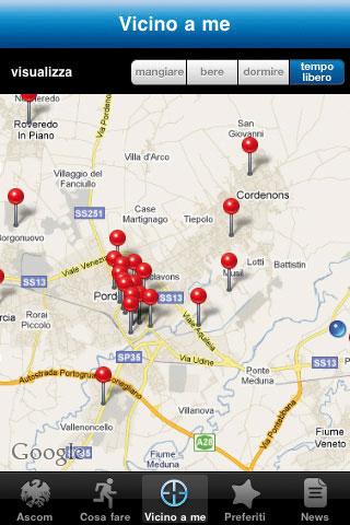 Screenshot5 Guida Pordenone Provincia Ospitale: è la nuova applicazione per iPhone
