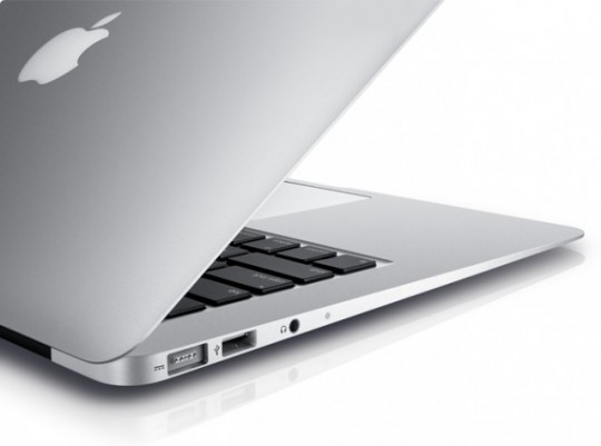 design hero e1311246137911 540x401 I nuovi MacBook Air superano nei test anche i MacBook Pro di fascia alta