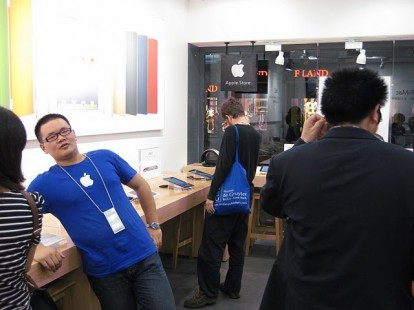 fake Apple store china  Chiusi due falsi Apple Store in Cina