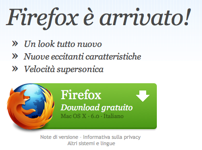 Schermata 08 2455790 alle 19.21.21 Download disponibile per Firefox 6